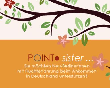 Weiblich, aufgeschlossen und neugierig auf geflüchtete Neu-Berlinerinnen?